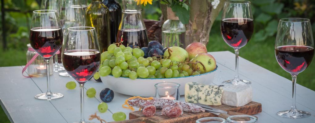 Wijnen voor een communiefeest of lentefeest