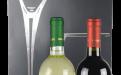 Draagtasje 'Wishes' met koord voor 2 flessen: