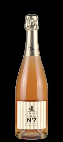 CREMANT DE LIMOUX ROSE 'La Rosé N° 7' Domaine J.Laurens