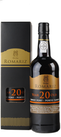 PORTO Romariz 20 Years Old in geschenkdoos