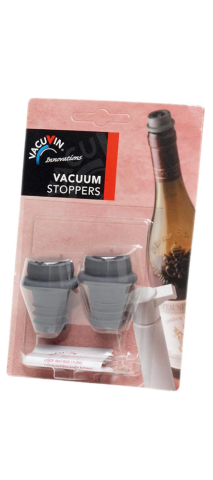 2 extra stoppen voor 'Vacuvin' in 'bl...