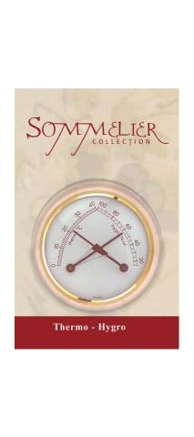 Kelder thermometer/hygrometer 'Sommel...