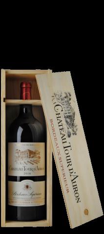 1 btl. Magnum (150cl.) rouge Château Tour D'Auron 2016 Borde
