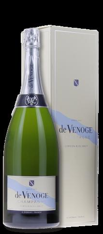 Geschenkdoos magnum De Venoge 'Cordon Bleu' Brut