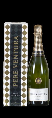 Geschenkdoos voor 1 fles Cava 'Pere Ventura':