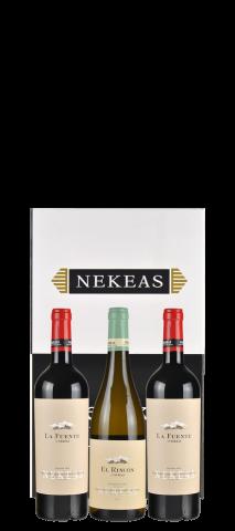 Geschenkdoos Nekeas voor 3 fllessen