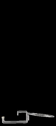 Element om koelemmer aan tafel te hangen