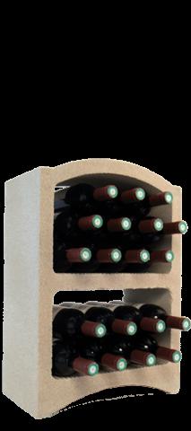 Wijnnis 'Standaard' voor 19 flessen, ...