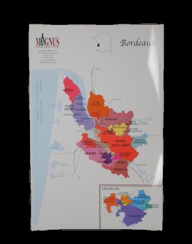 """Wijnkaart """"Bordeaux"""""""