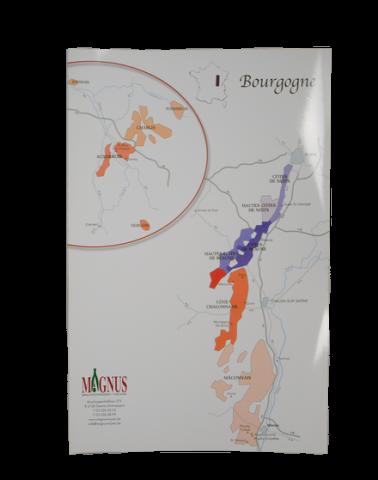 """Wijnkaart """"Bourgogne"""""""