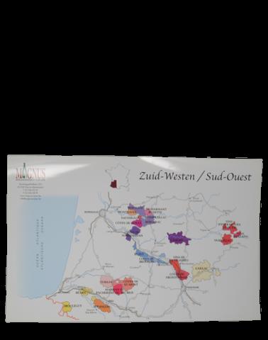 """Carte de vin """"Sud-ouest"""""""