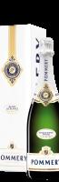 Geschenkdoos met 1 fles Champagne 'Pommery Brut Blanc de Bla