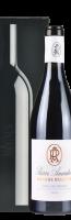 Zwart geschenkdoosje 'Magnus' voor 1 fles:
