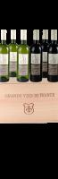Houten kist Grand Vin de France voor 6 flessen:
